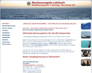 Ostsee Star Hochseeangeln Hirtshals Dänemark